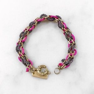 [Madewell] Brass Chain Link Threaded Bracelet
